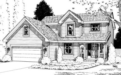 Traditional Style Floor Plans Plan: 10-974