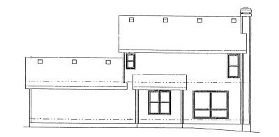 Rear Elevation Plan: 10-975