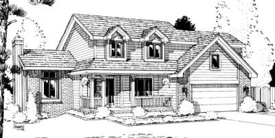 Country Style House Plans Plan: 10-976