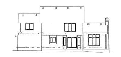 Rear Elevation Plan: 10-976