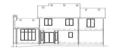 Rear Elevation Plan: 10-977