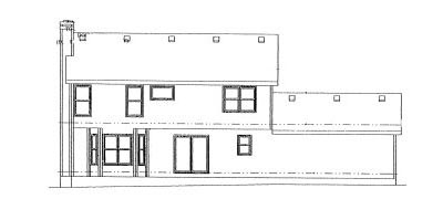 Rear Elevation Plan: 10-978