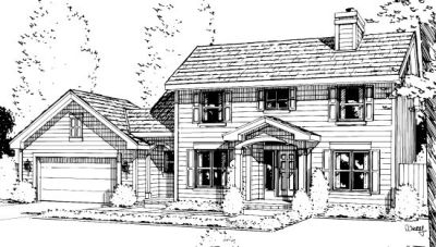 Traditional Style Floor Plans Plan: 10-979