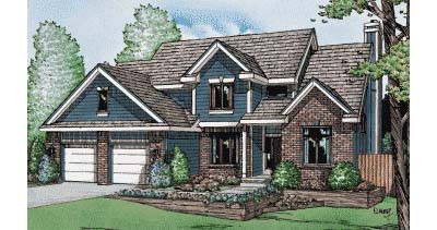 Traditional Style House Plans Plan: 10-980
