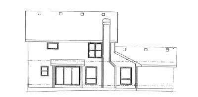 Rear Elevation Plan: 10-981