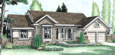 Traditional Style Floor Plans Plan: 10-984