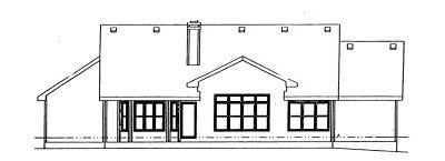 Rear Elevation Plan: 10-984