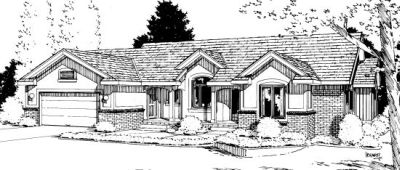 Traditional Style Floor Plans Plan: 10-986