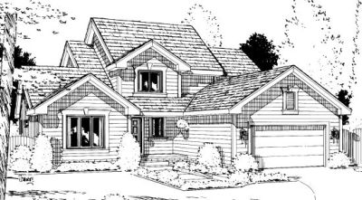 Traditional Style House Plans Plan: 10-991