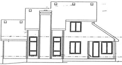 Rear Elevation Plan: 10-992