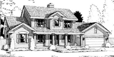 Traditional Style House Plans Plan: 10-996