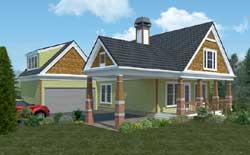 Craftsman Style Floor Plans Plan: 102-104