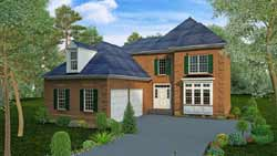 Traditional Style Floor Plans 102-108