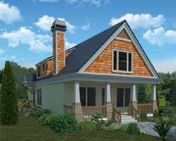Craftsman Style House Plans 102-110