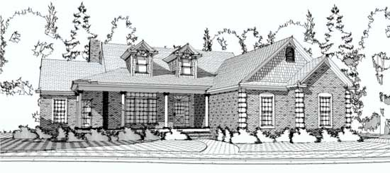 Country Style House Plans Plan: 103-102