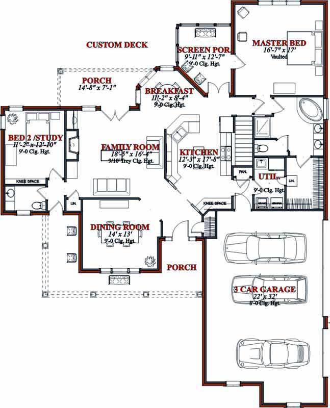 Main Floor Plan: 103-102