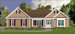 Traditional Style Floor Plans Plan: 103-144