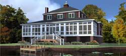 Coastal Style Floor Plans Plan: 103-189