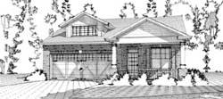 Craftsman Style House Plans Plan: 103-217