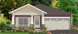 Craftsman Style Home Design 103-233