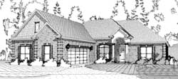 Traditional Style Floor Plans Plan: 103-275