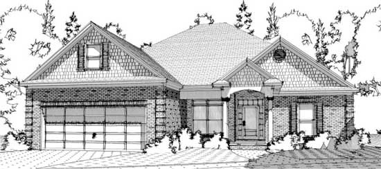 Traditional Style Floor Plans Plan: 103-281