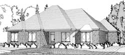 Traditional Style Floor Plans Plan: 103-289