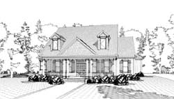 Cottage Style House Plans Plan: 103-296