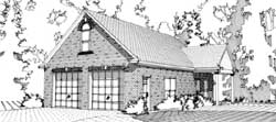 Southern Style House Plans Plan: 103-307