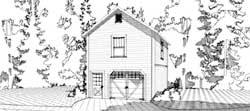 Country Style Home Design Plan: 103-314