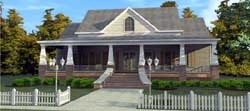 Southern Style Home Design Plan: 103-330
