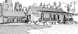 Farm Style Floor Plans Plan: 103-346