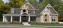 Craftsman Style Floor Plans Plan: 103-360