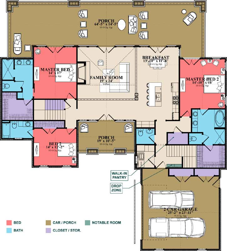 Main Floor Plan: 103-372