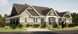 Craftsman Style Floor Plans Plan: 103-373