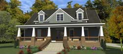 Craftsman Style Floor Plans Plan: 103-380