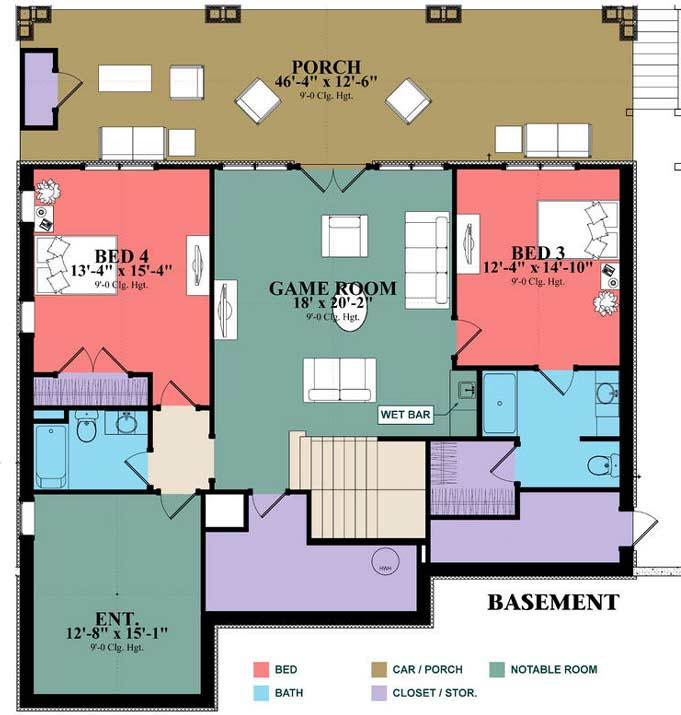 Lower Floor Plan: 103-381