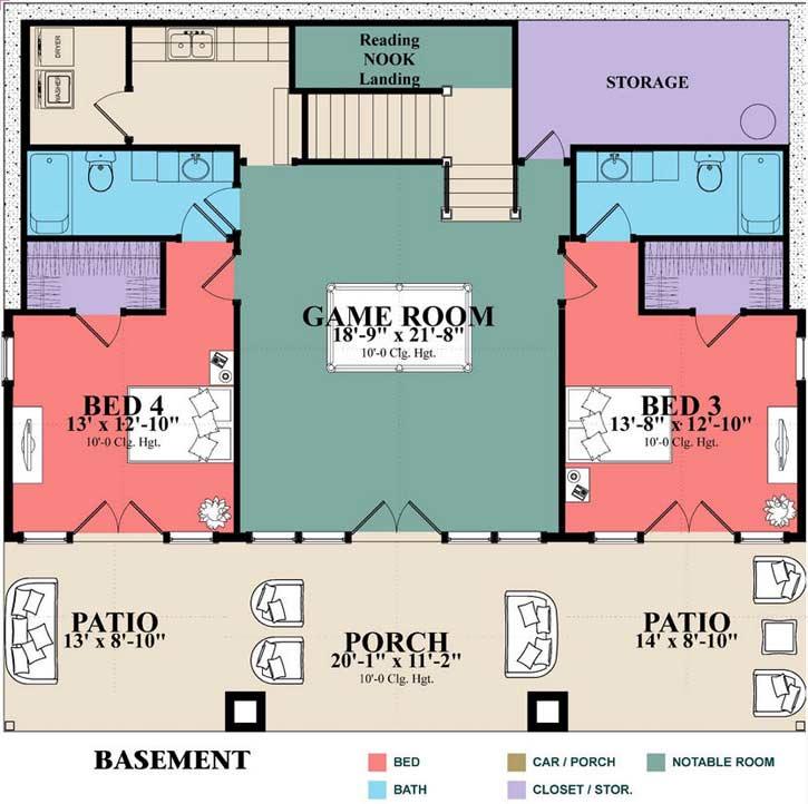 Lower Floor Plan: 103-382