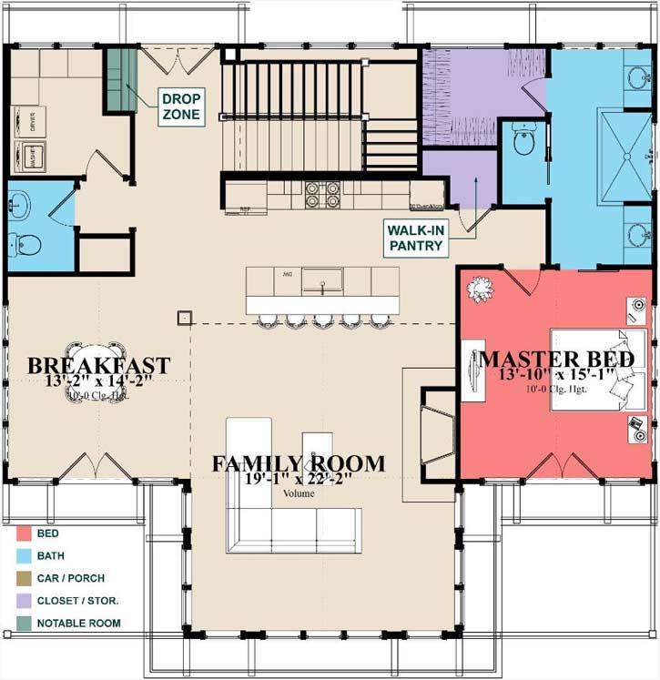 Main Floor Plan: 103-382