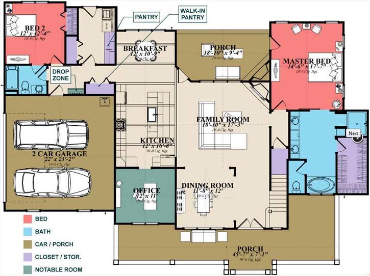 Main Floor Plan: 103-385