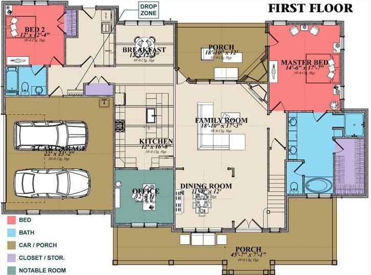 Main Floor Plan: 103-390
