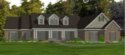 Country Style House Plans Plan: 103-392