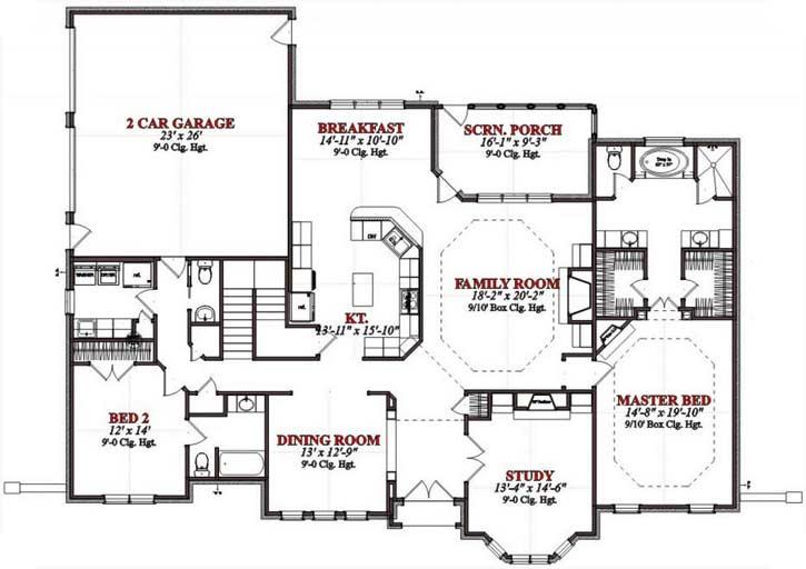 Main Floor Plan: 103-395