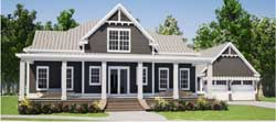 Modern-Farmhouse Style Floor Plans Plan: 103-396