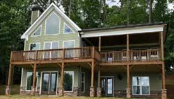 Contemporary Style Home Design Plan: 103-429