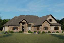 Traditional Style House Plans 104-102