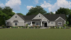 Ranch Style House Plans 104-154