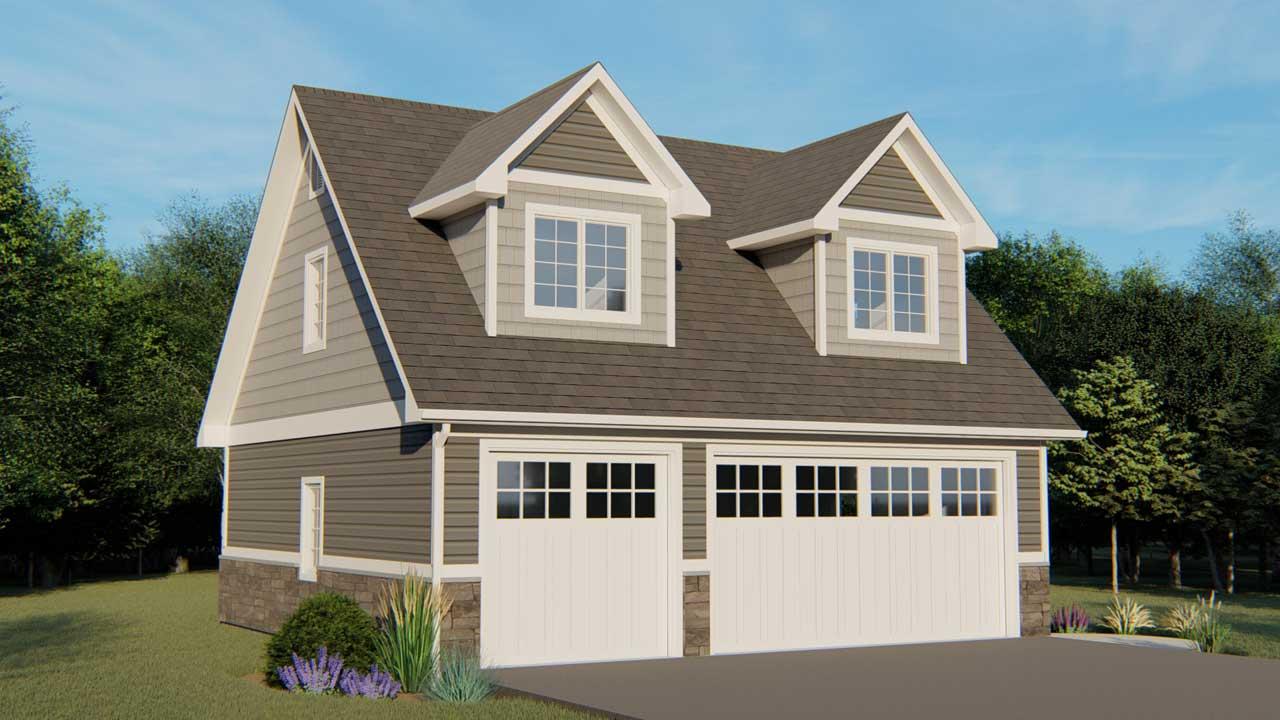 Cape-cod Style House Plans Plan: 104-178