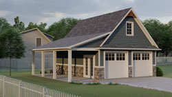 Traditional Style House Plans Plan: 104-209