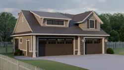 Bungalow Style House Plans Plan: 104-213